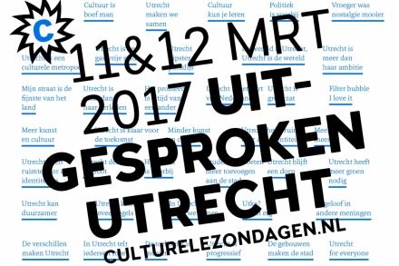 Culturele Zondag 12 maart in Utrecht
