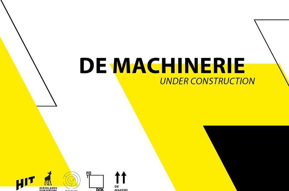 De Machinerie- plek voor vernieuwende beeldcultuur